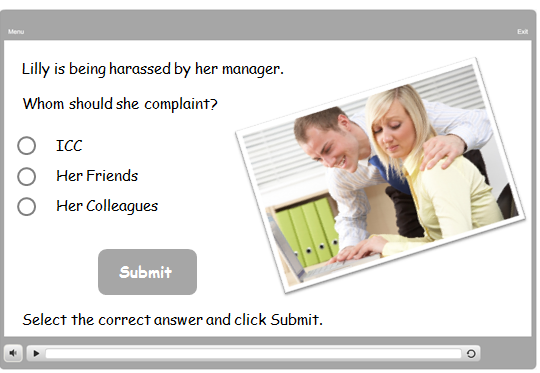Have a Series of Scenarios where the Learner Takes Decisions