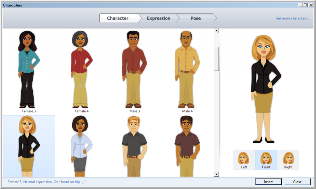 Illustrations available in Articulate Storyline