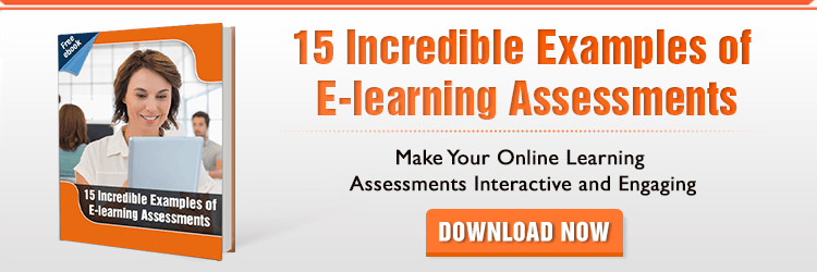 View eBook on 15 Incredible Examples of E-learning Assessments