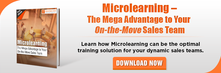 View eBook on Microlearning – The Mega Advantage to Your On-the-Move Sales Team