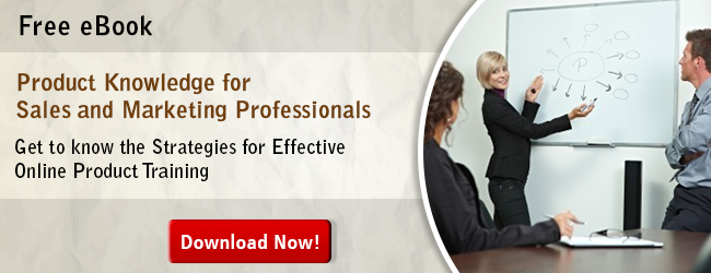 Download the eBook Product Knowledge for Sales and Marketing Professionals