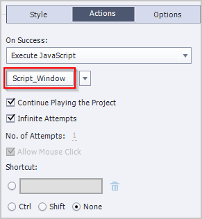 Go to execute javascript