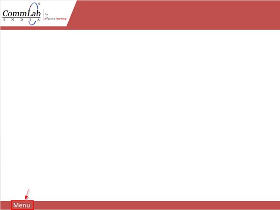 Step 4 - Create a Menu tab on the first slide