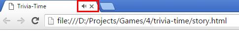 Story html file