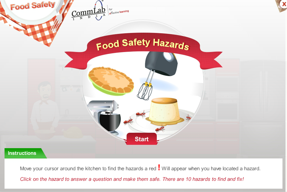 5 gamification examples in articulate storyline that will for 5 kitchen safety hazards