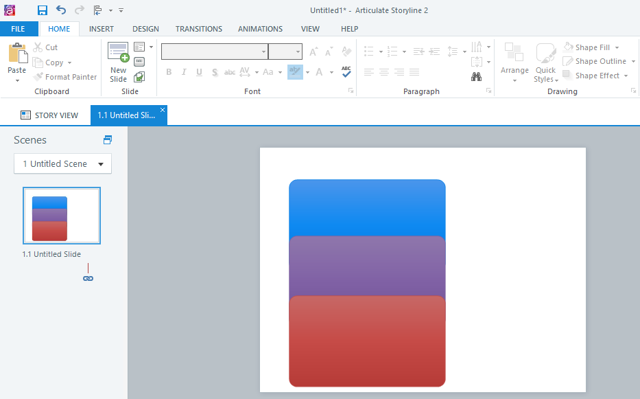 Align multiple objects on a slide