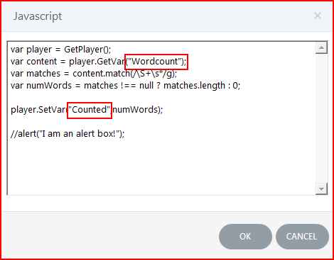Click add or edit java script Step 3