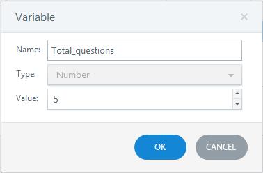 Create 3 variables Step 3
