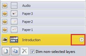 Go to properties and select custom for the selected slides Step3