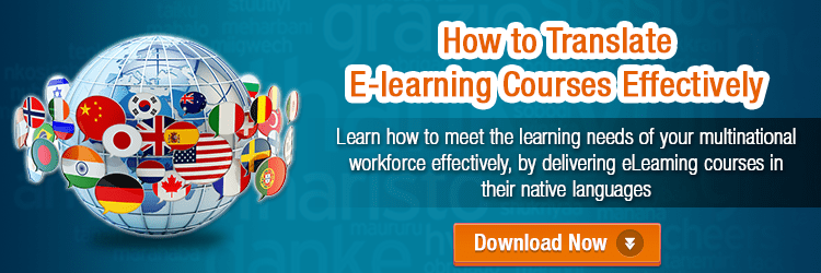 View eBook on How to Translate E-learning Courses Effectively