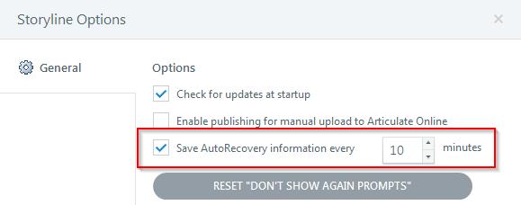 AutoRecovery