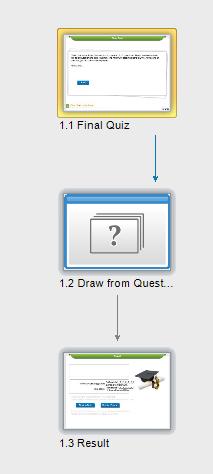 Create final quiz slides