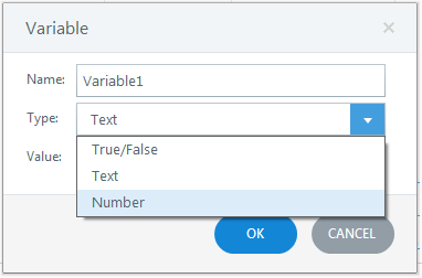 Create variables Step1