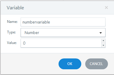 Number variable