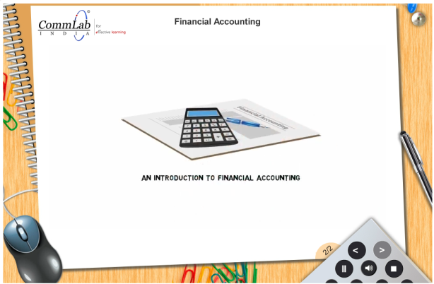 View E-learning: Financial Accounting