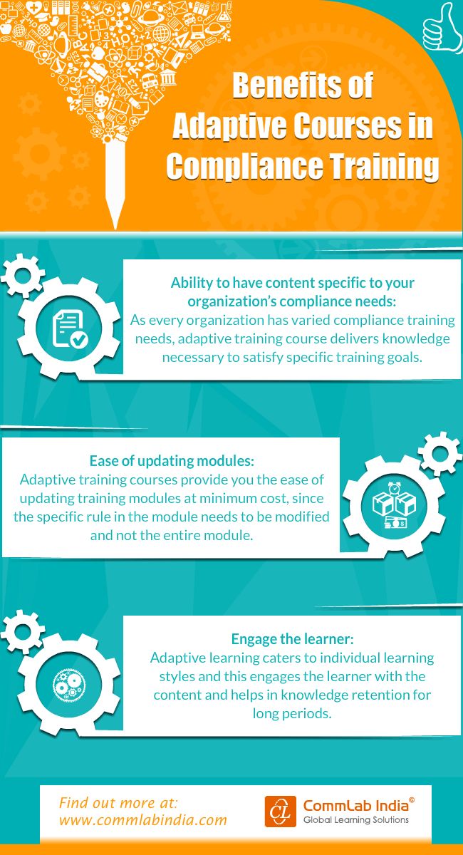 Benefits of Adaptive Courses in Compliance Training [Infographic]