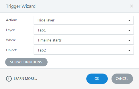 Create one more trigger in all slide layers