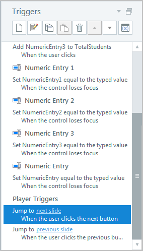 Default variable is created