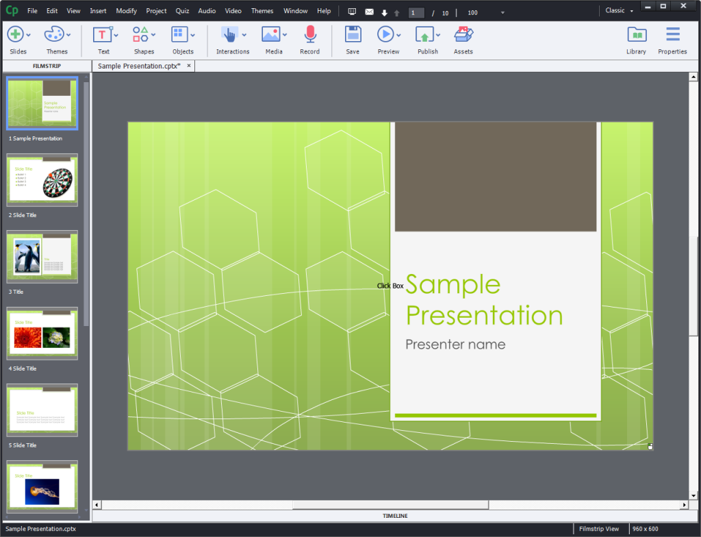Powerpoint imported