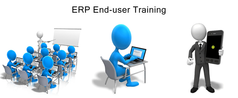 How do you Blend ILT, E-learning, & M-learning for ERP End-user Training?
