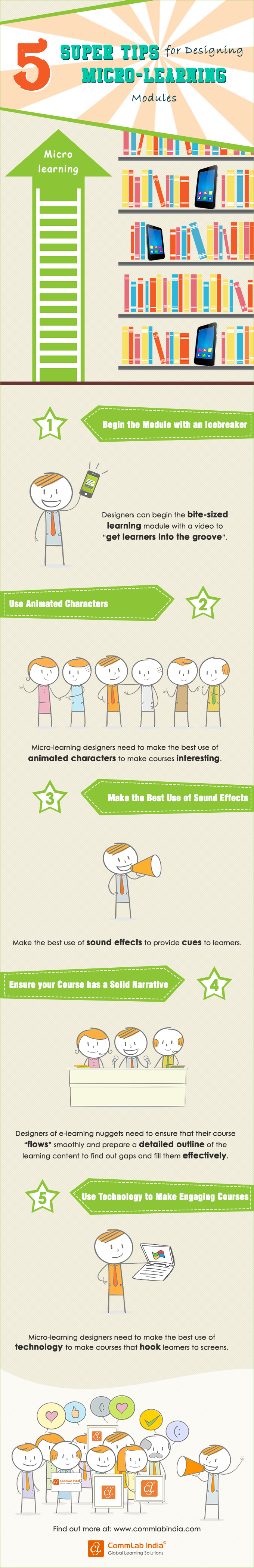 5 Super Tips for Designing Microlearning Modules [Infographic]
