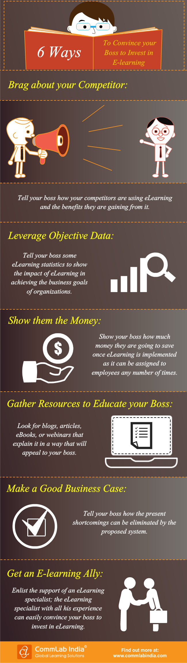 6 Ways to Convince Your Boss to Invest in E-learning [Infographic]