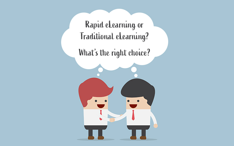 Rapid eLearning Vs. Traditional: A Comparison of Development Time