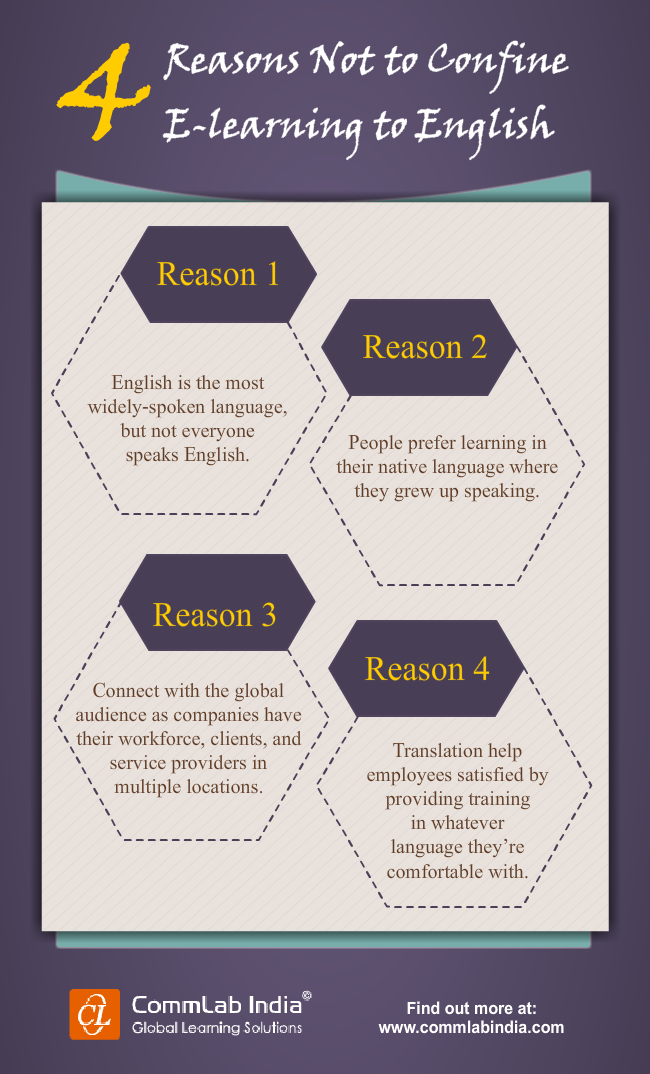 4 Reasons Not to Confine E-learning to English [Infographic]