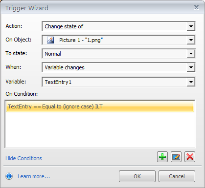 Step 09: Add Triggers to Display Entered Answers