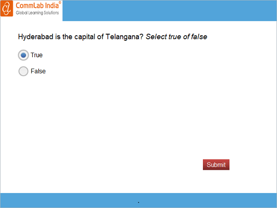 Create a normal true or false