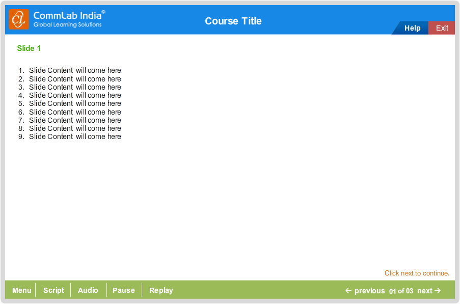 Create the customize gui Step1