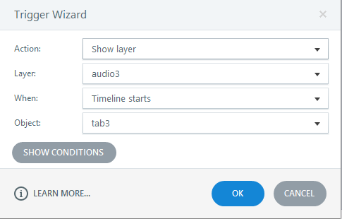 Insert audio to tab3