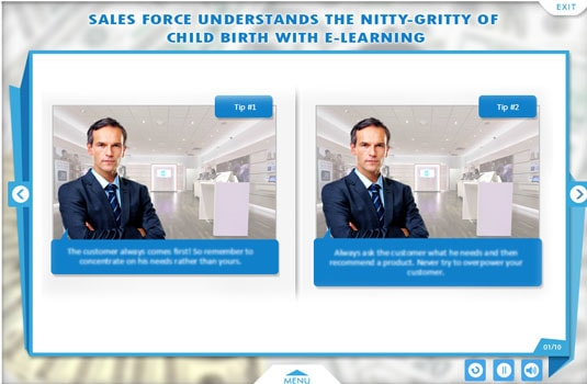 Online course for salesforce