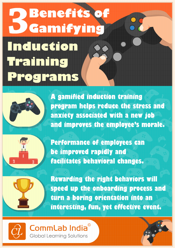 3 Benefits of Gamifying Induction Training Programs [Infographic]
