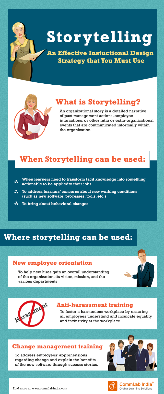Storytelling - An Effective Instructional Design Strategy You Must Use [Infographic]