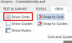 show grids
