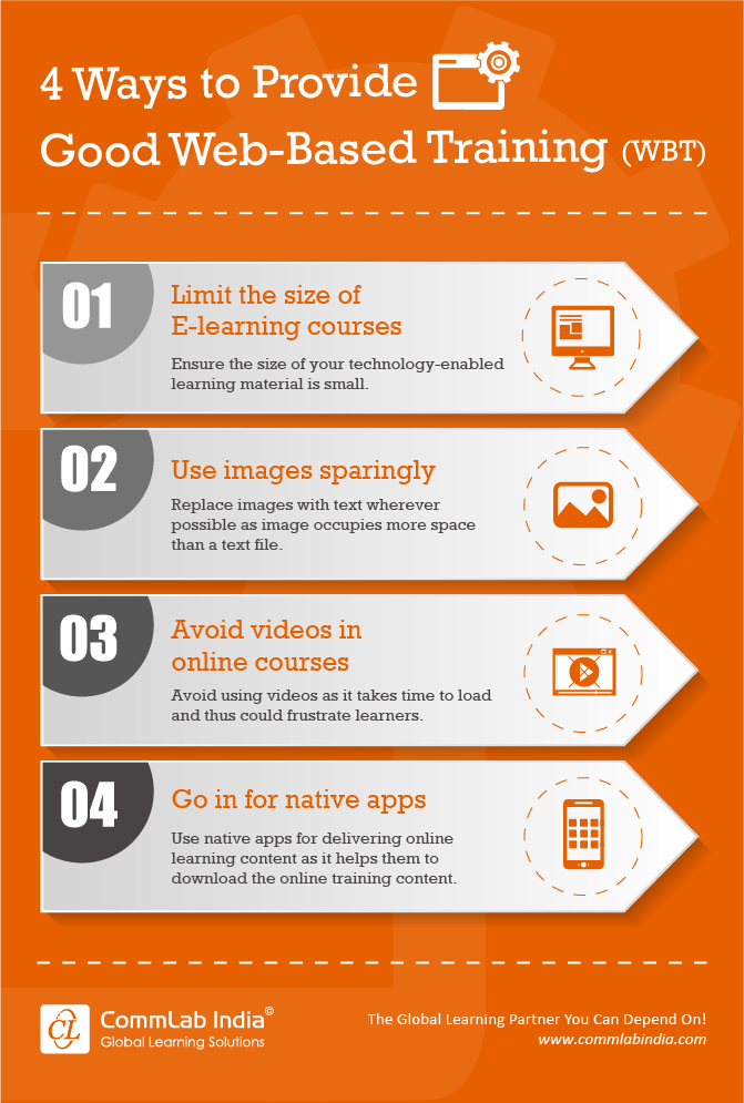 4 Ways to Provide Good Web-based Training [Infographic]