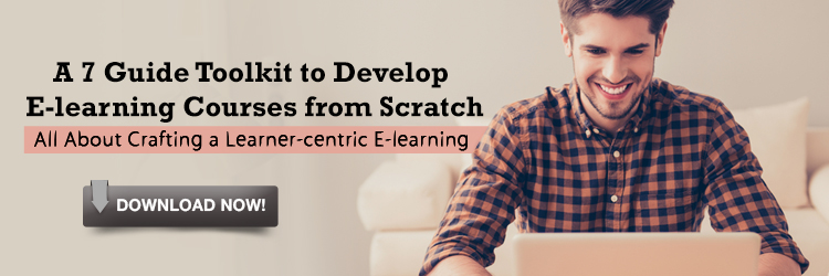 View e-book on A 7 Guide Toolkit to Develop E-learning Courses from Scratch - Free E-books