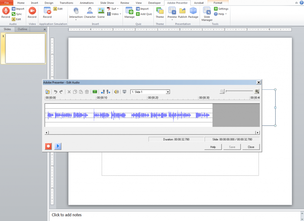 Edit the pop up window audio