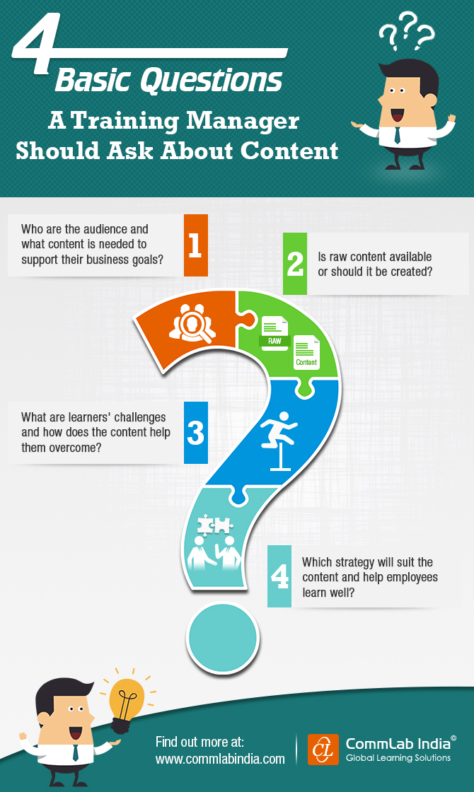 4 Basic Questions a Training Manager Should Ask About Content [Infographic]