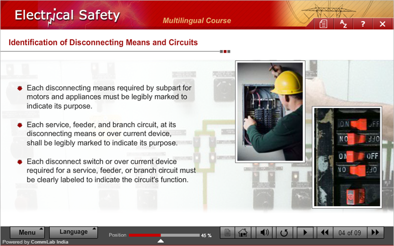 Identification of Disconnecting Means and Circuits-Slide2