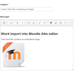 Atto: Microsoft Word File Import