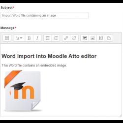 Atto: Microsoft Word File Import