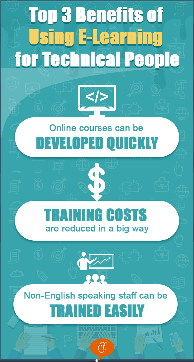 3 Benefits of Using E-learning for Technical Training [Infographic]