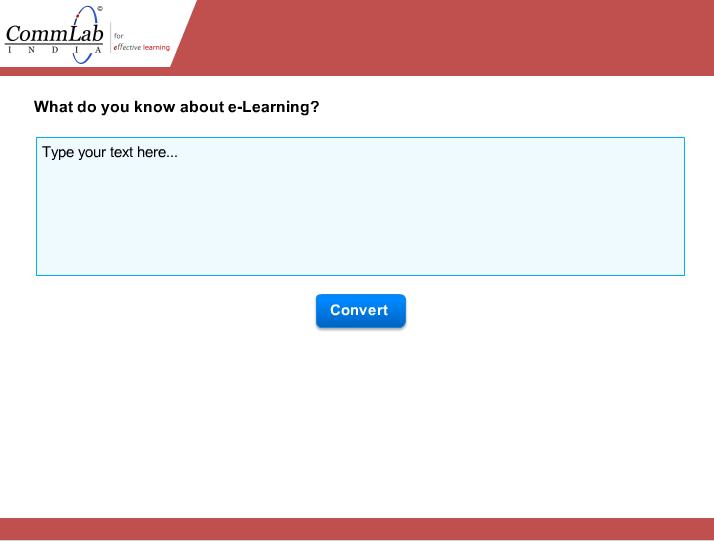 Step 1 - design your assessment