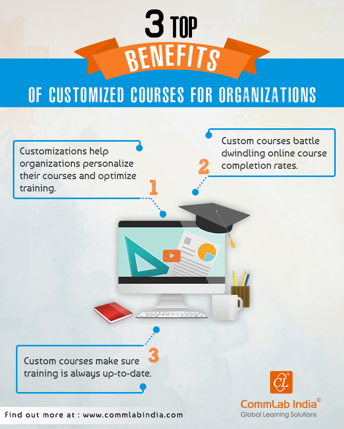 Top 3 Benefits of Customized Courses for Organizations [Infographic]