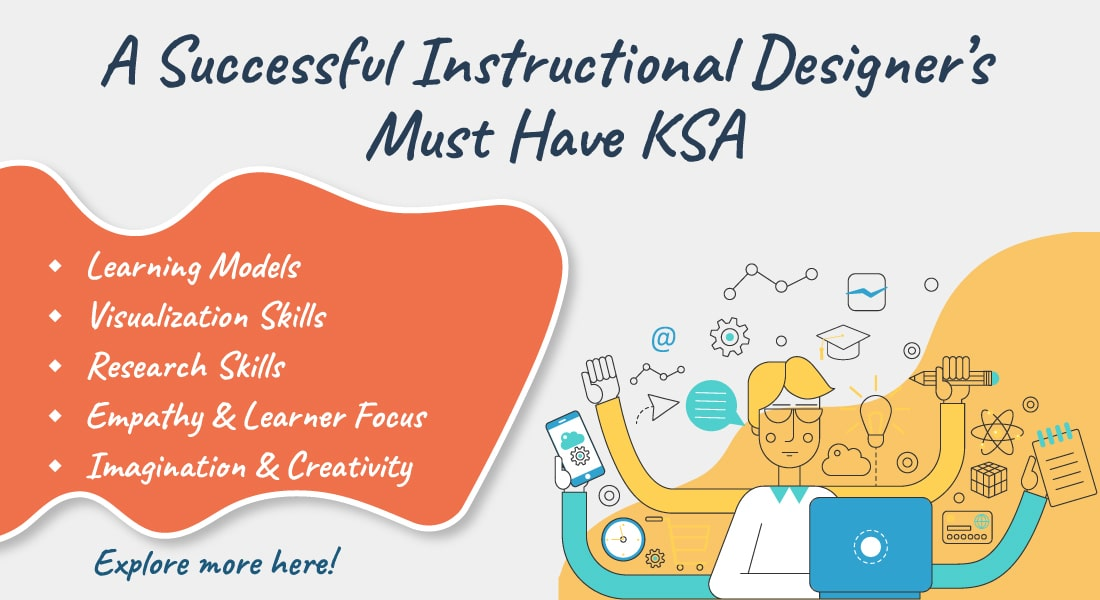 The Must Have KSA (Knowledge, Skills, & Attitudes) of an Instructional Designer