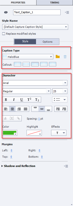 Change Caption Text in Adobe Captivate 9