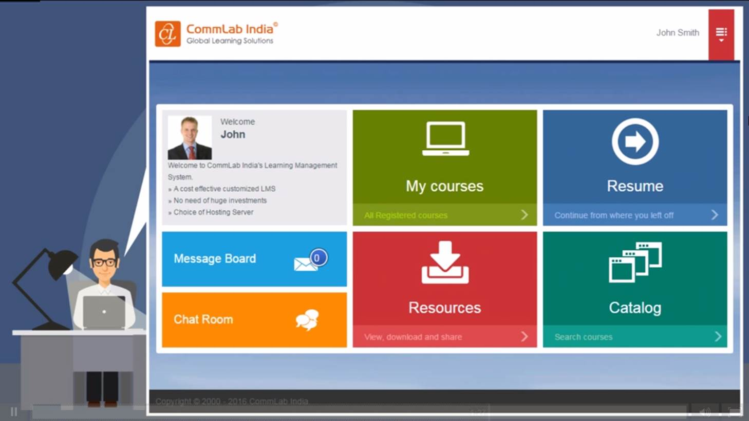 Using Moodle LMS for anytime and any device access