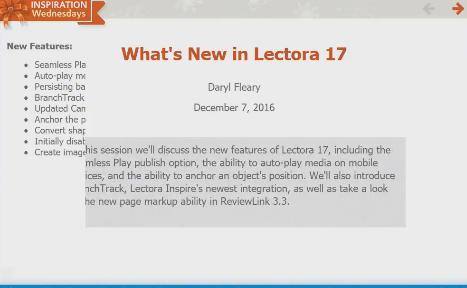 Screen wipe in Lectora Inspire 17